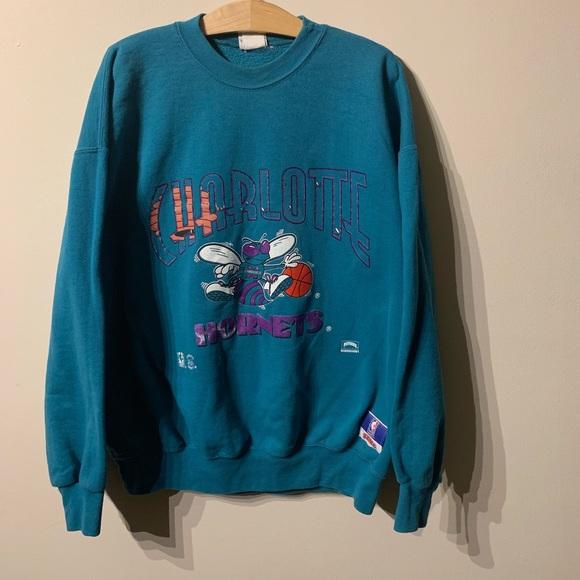 best website f69bb 0d724 Vintage 90's Charlotte hornets sweater